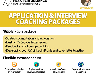 Help get the job you love - CV, Application & Interview Coaching