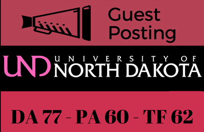 Guest Post on North Dakota University UND, UND.edu DA 77