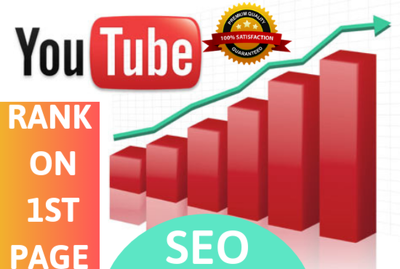 Organically Optimise YouTube Video To Rank On 1st Page - SEO