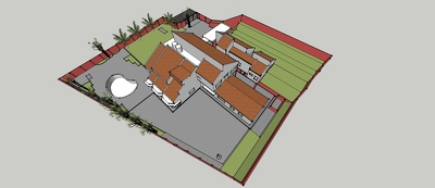 Create 3d Sketchup Architectural Model from 2d drawings