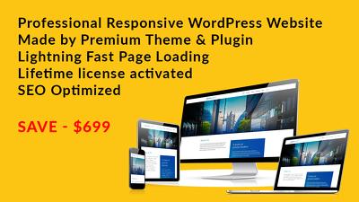 PSD to WordPress by WPBakery / Elementor / Beaver Builder
