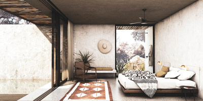 High quality interior rendering