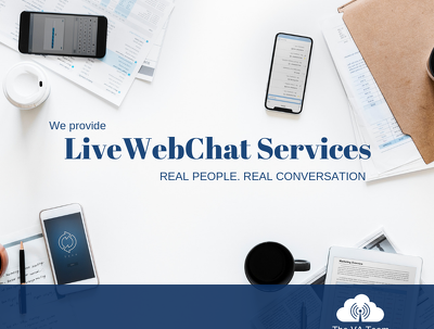Offer monthly LIVE WebChat Management