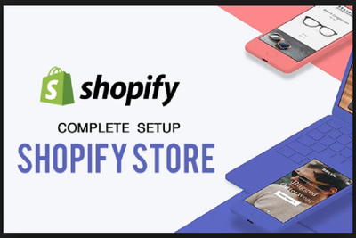 Create Customize Professional Shopify Store For You.