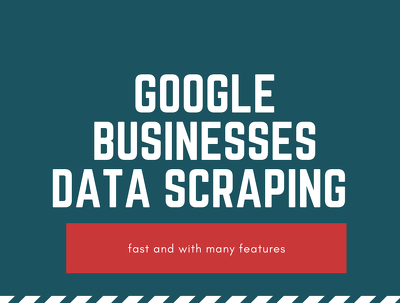 Scrape 2k google map businesses data