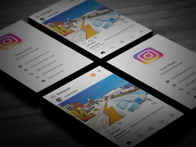 Turn Your Instagram Into A Business Card