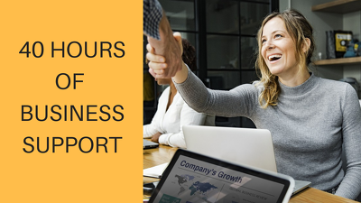 Provide 40 Hours Of full-time Business Support