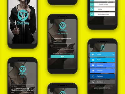 Design Mock Up Of Desktop ,Mobile Application And Websites