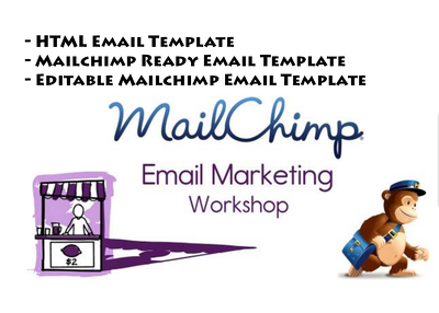 Design MailChimp Editable Newsletter Template