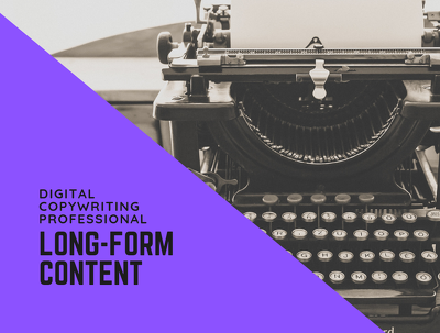 Write 3,000 Words of SEO Optimised Long-Form Content For You
