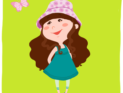 Draw cute cartoon style portrait or family illustration