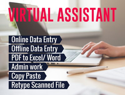 Virtual/Personal Assistant for one hour