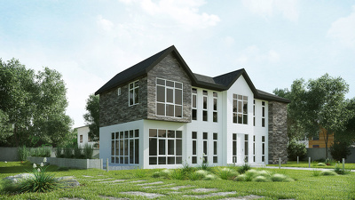 Create high quality & realistic exterior 3D rendering