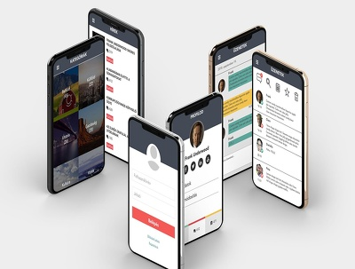 Design Professional Mobile App / Website UI/UX Design