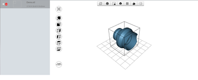 Develop web based 3D CAD viewer