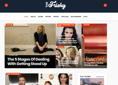 Publish Guest Post On Thefrisky - Thefrisky.com Da 80 DoFollow