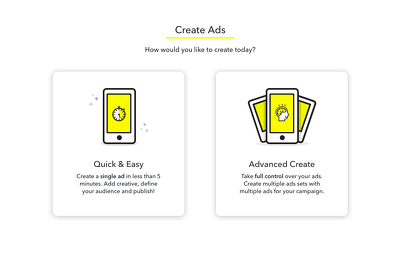create And Manage Snapchat Ads