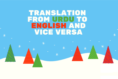 Translate 1000 Words From Urdu To English And Vice Versa