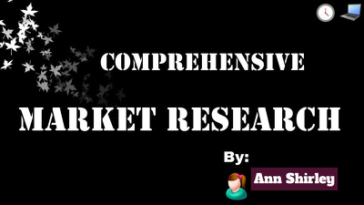 do Deep Market Research, Business Research In 24 Hours