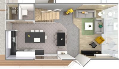 3D Floor Plans in Sketchup