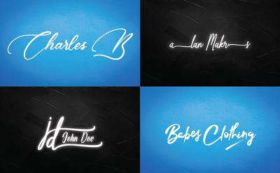 Do Signature Logo Design In 6 Hours