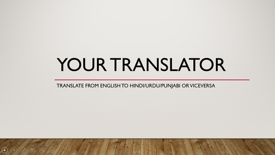 TRANSLATE 500 WORDS FROM ENGLISH TO HINDI
