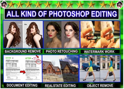 do Any Photoshop Editing Work Professionally