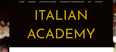 Guest Post on Italian Academy - ItalianAcademy.org - DA43, PA25