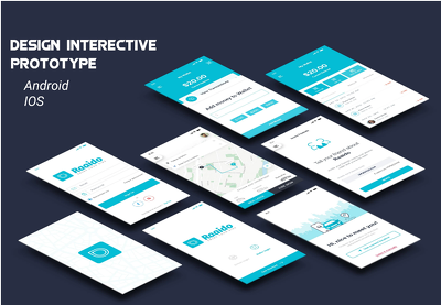 Design Interactive Prototype For Mobile App And Website