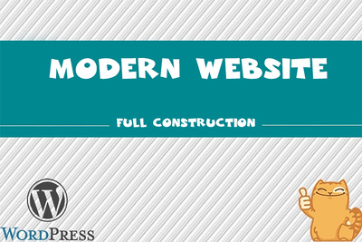 WordPress site. Qualitatively and quickly