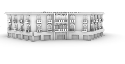 Do a 3D model for your house in Rhino 3D