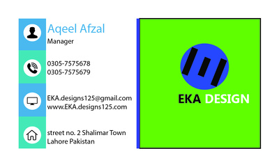 Design your business card and logo