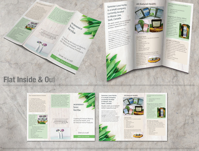 Design Modern And Professional Trifold Brochure