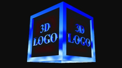 Design An Eye Catching 3d Logo With Animation