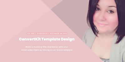 ☆ Responsive HTML email template for ConvertKit