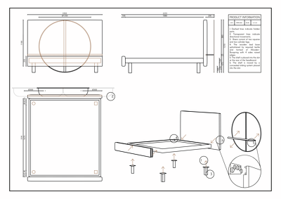 Create technical drawing of your 3D model / design