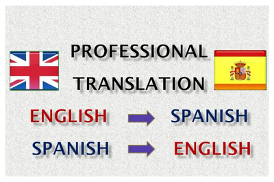 Manually Translate From English To Spanish And Vice Versa