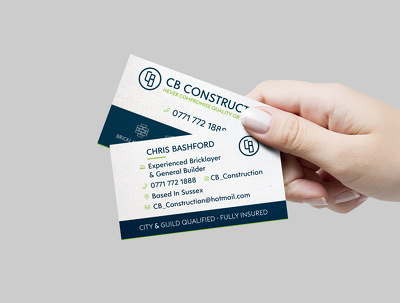 Design you a professional business card double sided
