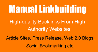 Manual Linkbuilding For Your Website