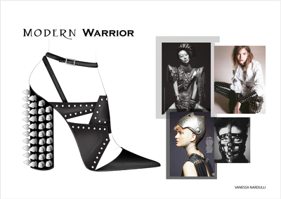 Create a mood board for your footwear collection
