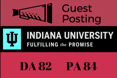 Guest Post on Indiana University Blog IU.edu - DA 86