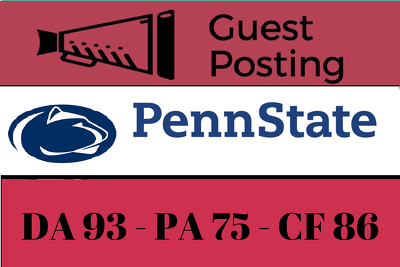 Guest Post on Pennsylvania State University - PSU.edu DA 93