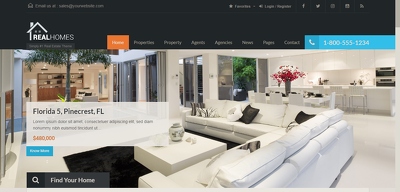 Create a Real Estate Website with WordPress and Real homes
