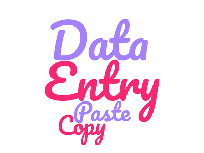 Do Professional Data Entry, Copy Paste And Search 500 entries