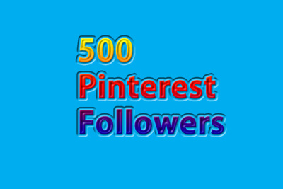 Social Media Followers on your Pinterest page