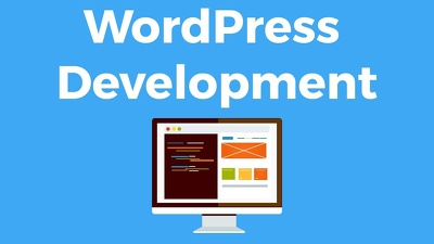 Develop simple wordpress website