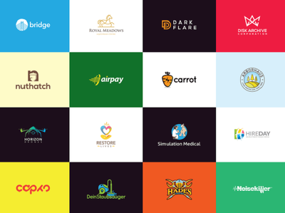 Get your Awesome logo + 4 Logo option + Unlimited Revisions
