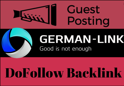 Publish German Guest Post on DA 62 German Blog - DoFollow Link