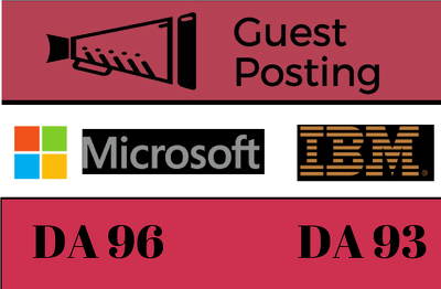 Publish 2 Tech Guest Posts on IBM and Microsoft DoFollow Indexed