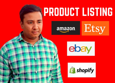 I Will Do Product Listing On Your Amazon Store